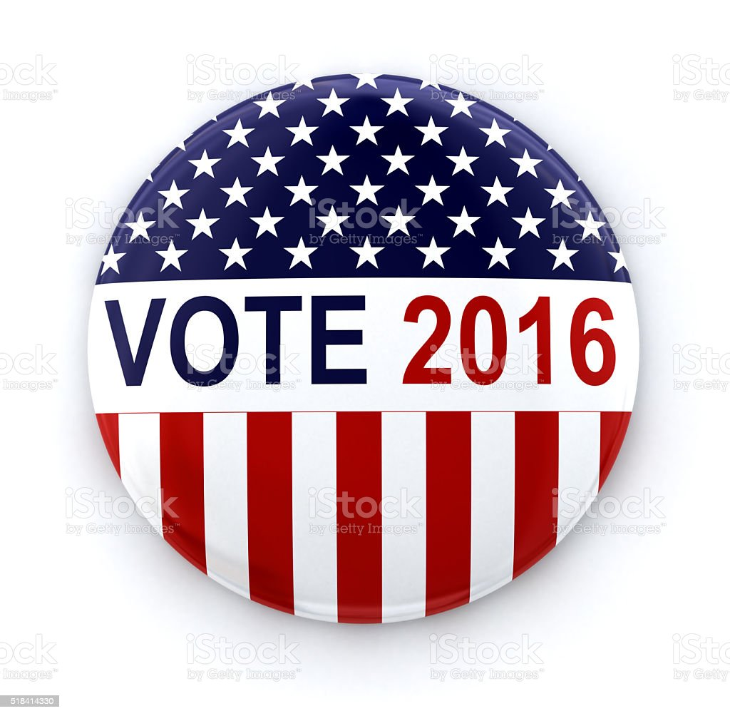 Vote 2016 stock photo