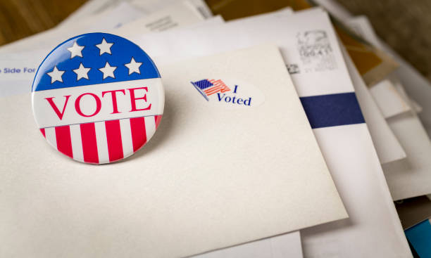 vote by mail - ballot stock pictures, royalty-free photos & images