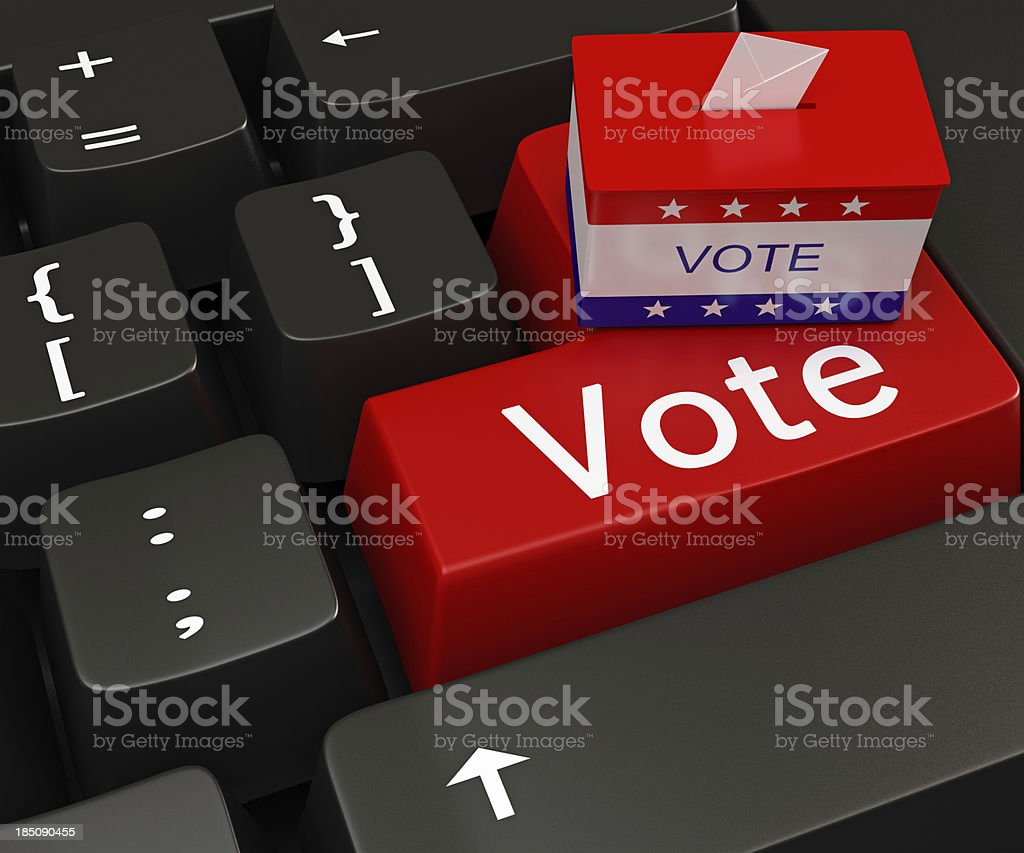 Vote Concepts royalty-free stock photo