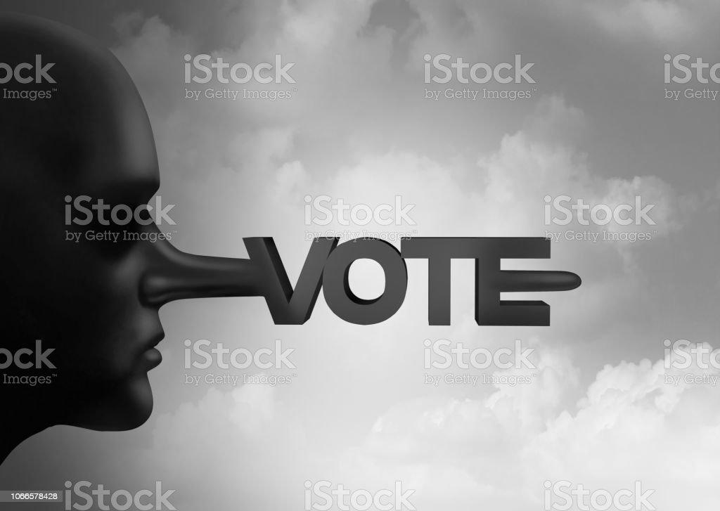 Vote Fraud stock photo