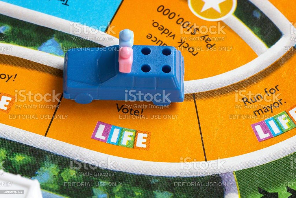 Vote in Life stock photo