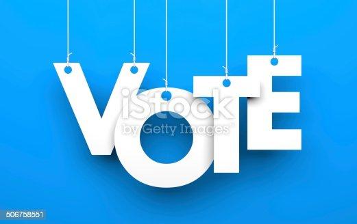 istock Vote metaphor 506758551