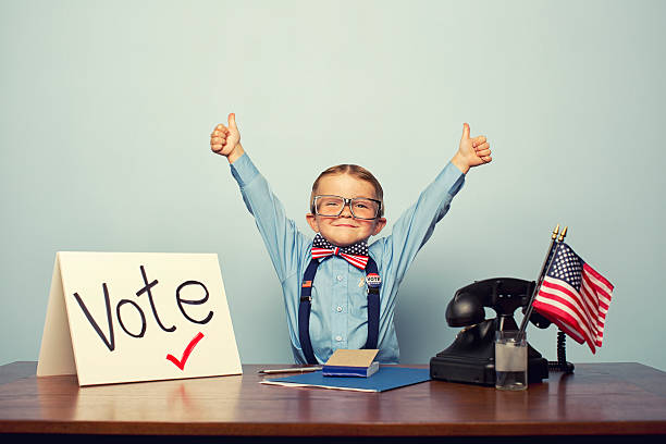 Vote! stock photo