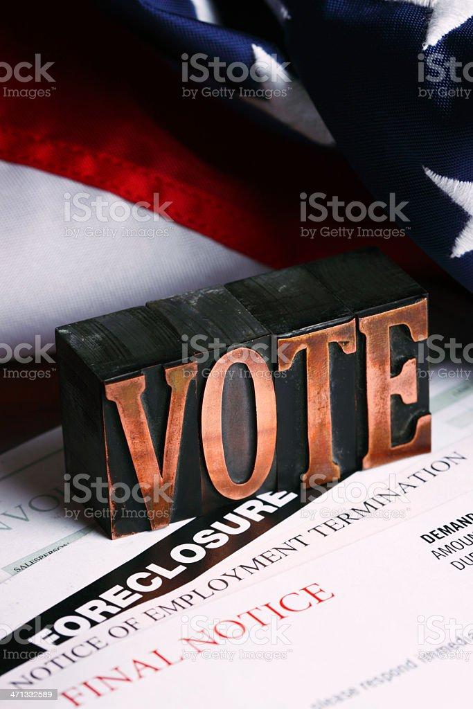 Vote. royalty-free stock photo