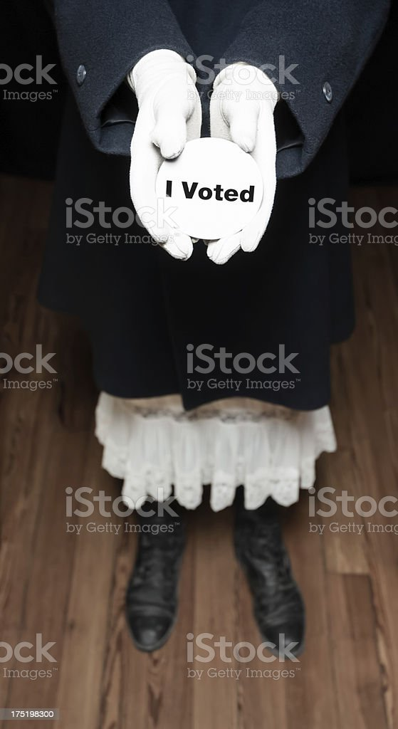 I Voted royalty-free stock photo