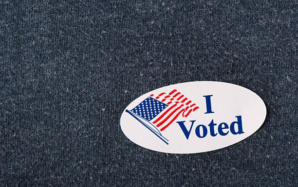 """«j'ai voté """" vignette - vote photos et images de collection"""
