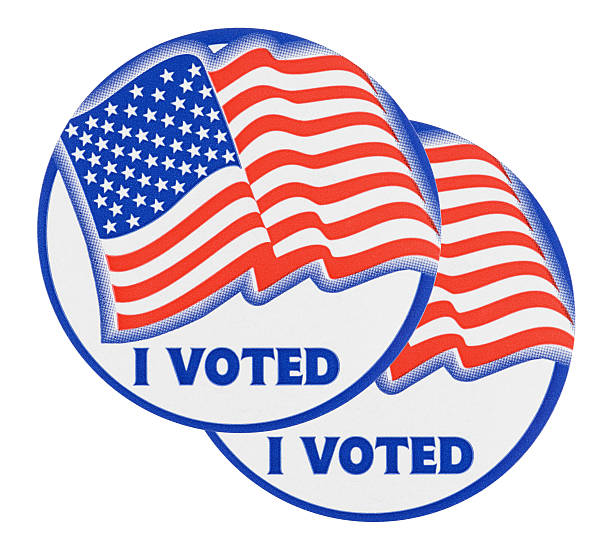 Royalty Free I Voted Sticker Pictures, Images and Stock Photos - iStock