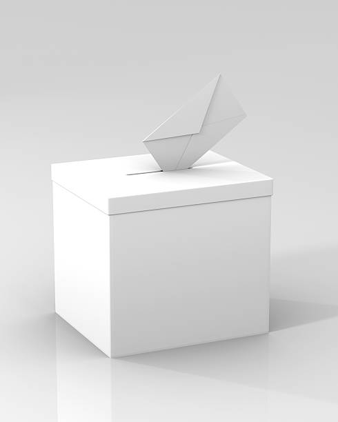 Voting Ballot Box  stock photo