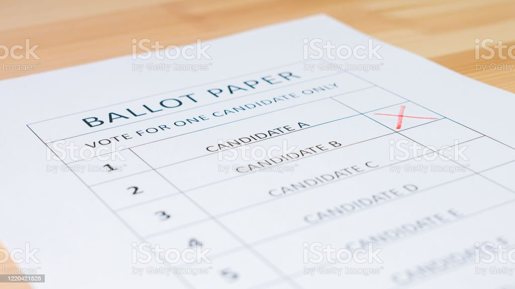 Voting Ballot Paper Stock Photo Download Image Now Istock