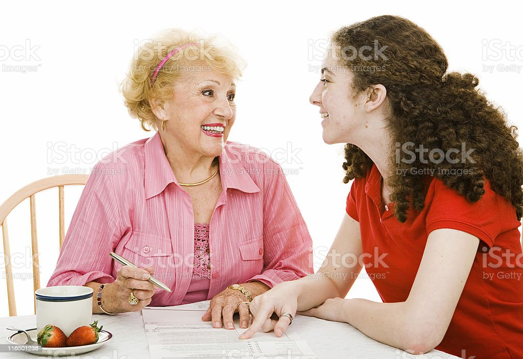 Voting - Discussing Democracy royalty-free stock photo
