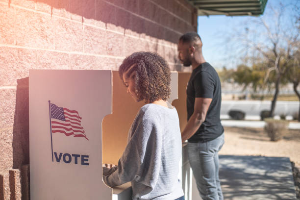 Voting stock photo