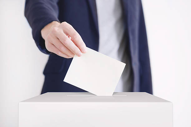 Voting. stock photo