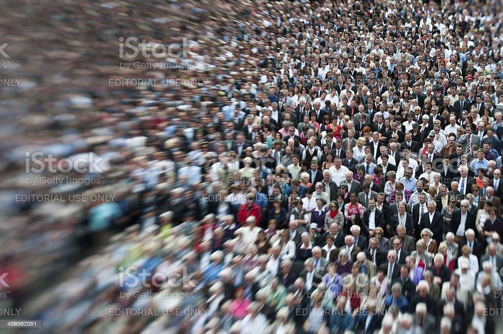 Stimmabgabe Bevölkerung Appenzell, Schweiz, während die Landsgemeinde – Foto