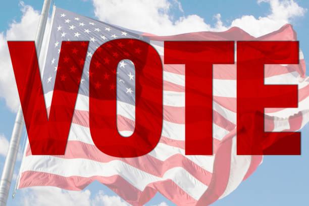 voting sign - presidential debate стоковые фото и изображения
