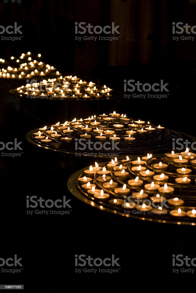 votive candle royalty-free stock photo