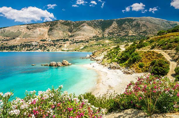 Vouti Strand, Insel Kefalonia, Griechenland – Foto