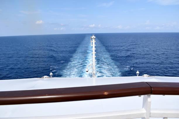 A Voyage Across the Atlantic Ocean stock photo