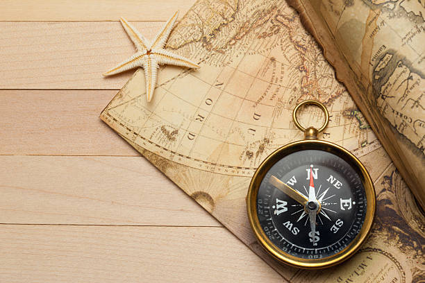 Royalty free world map scroll pictures images and stock photos istock voyage background stock photo gumiabroncs Gallery