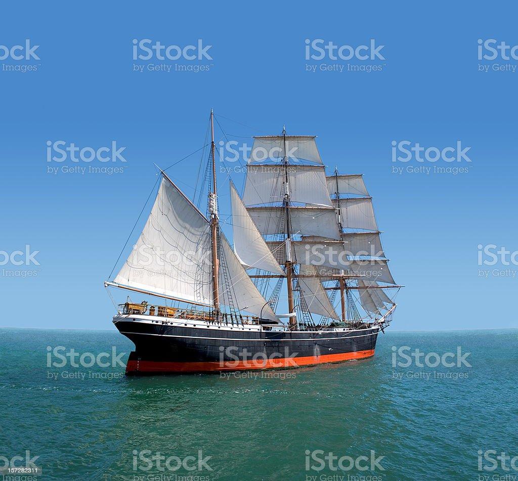 Voyage to Galapagos stock photo