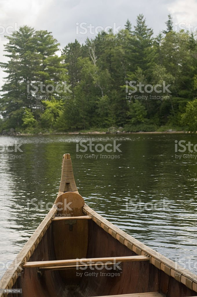 voyager canoe royalty-free stock photo