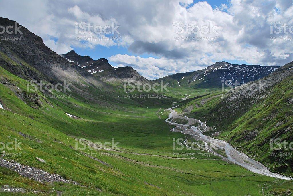 Vrin, Switzerland stock photo