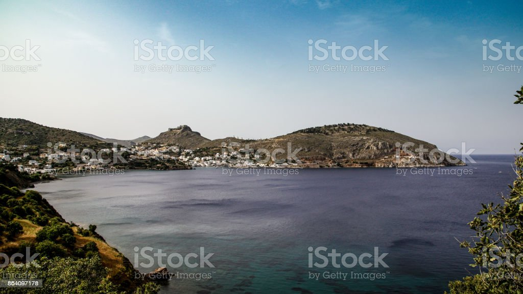 Baie de Vromolithos royalty-free stock photo
