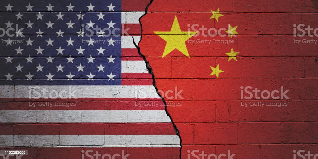 USA vs China - Royalty-free Agreement Stock Photo