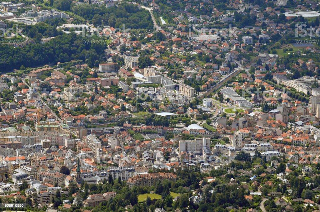 Vue générale d'Aix-les-Bains - Photo