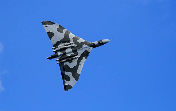 Vulcan Bomber stock photo