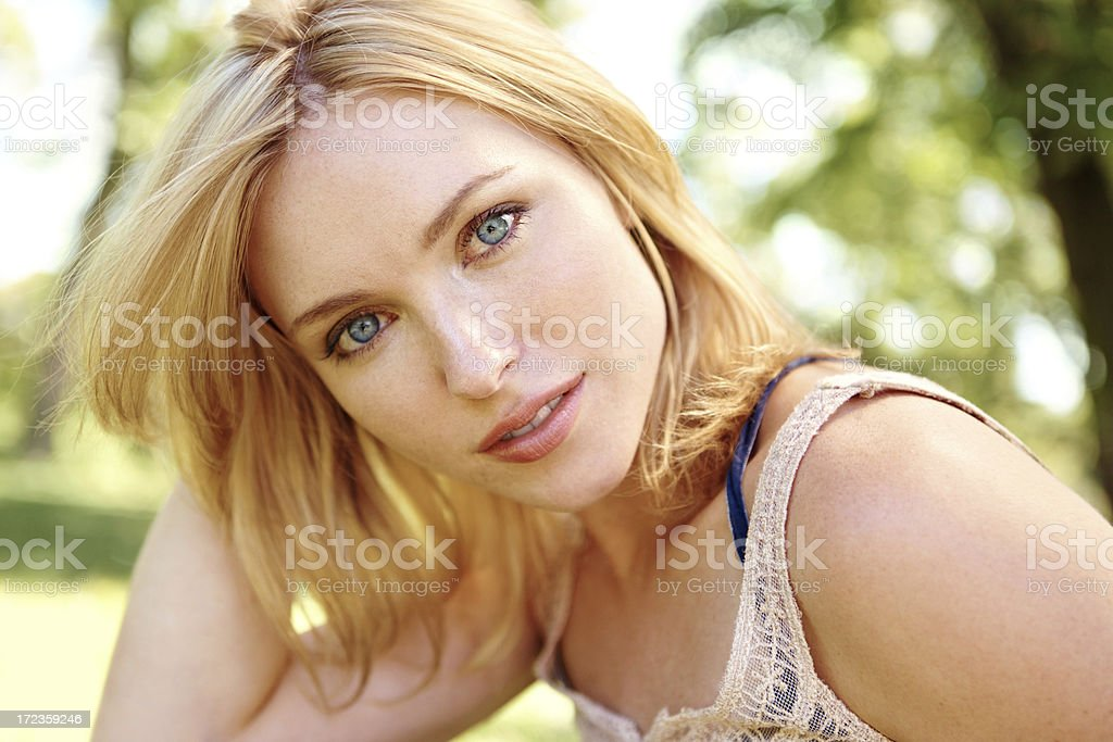 Vulnerable vision royalty-free stock photo