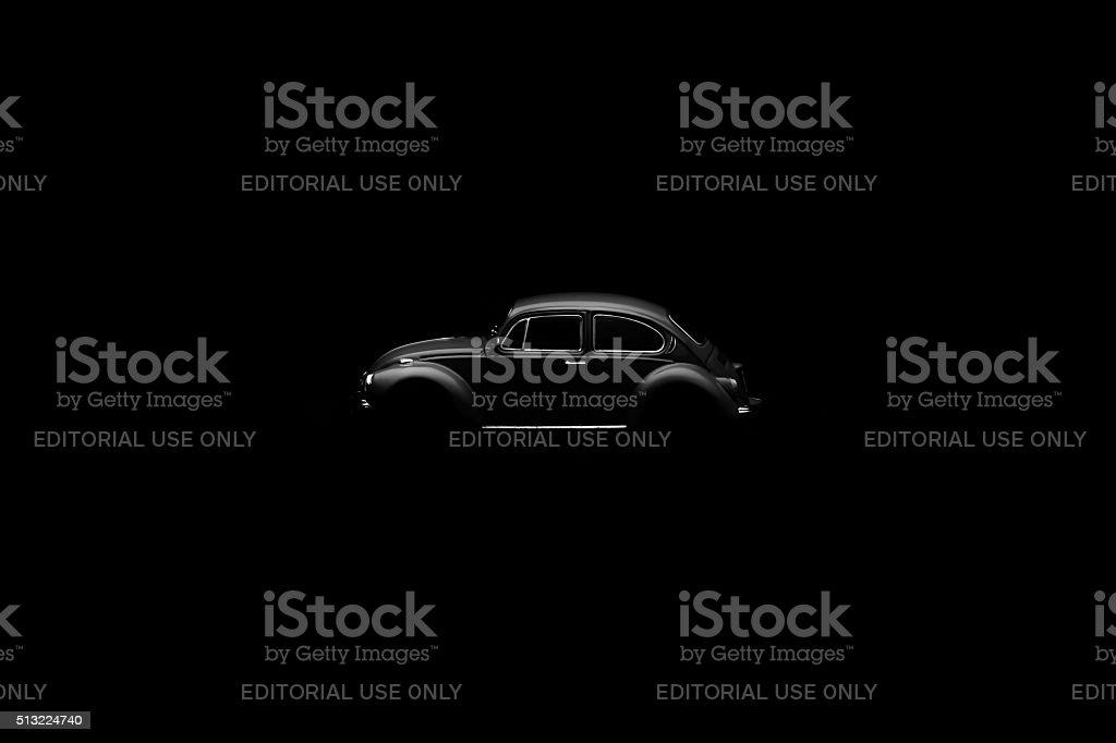 Vw beetle stock photo