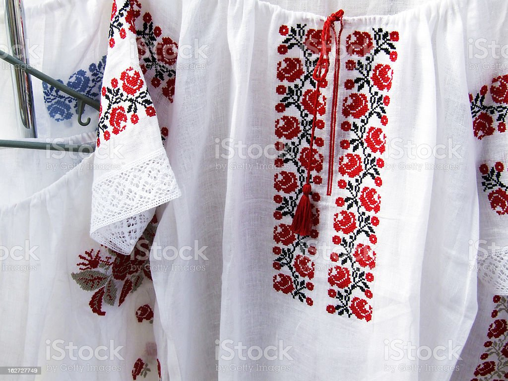 Vyshyvanka royalty-free stock photo