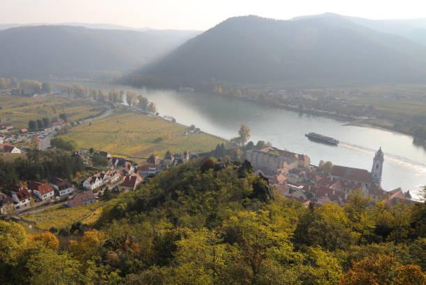 Wachau valley along Danube River