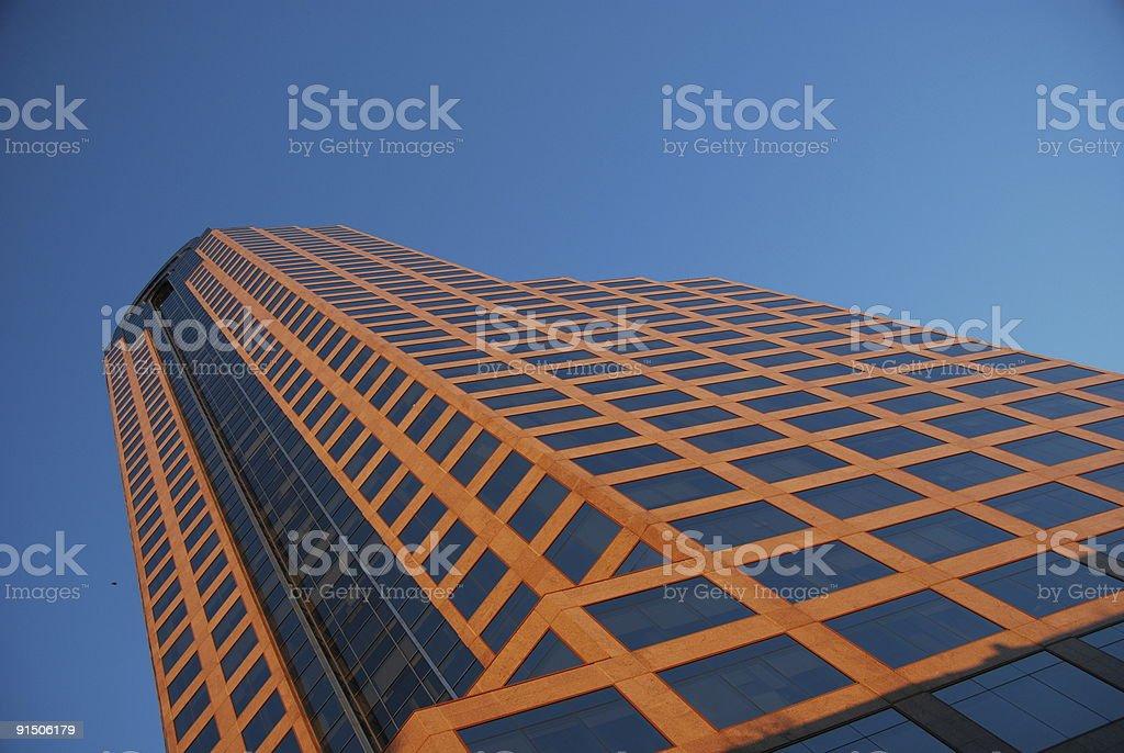 Wachovia Bank Headquarters, Charlotte, NC stock photo