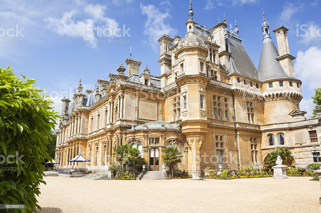 Waddesdon Manor royalty-free stock photo