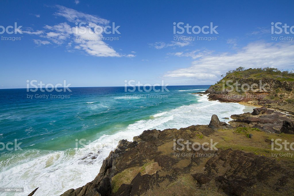 waddy point fraser island royalty-free stock photo