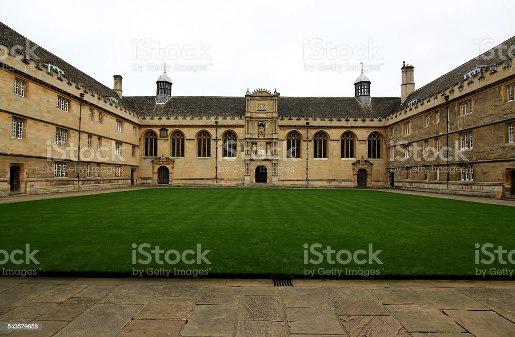 Wadham College Oxford University stock photo