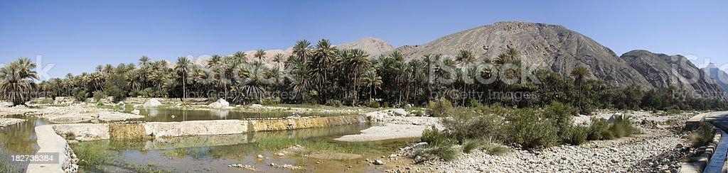 Wadi Bani Khalid, Muscat Oman royalty-free stock photo