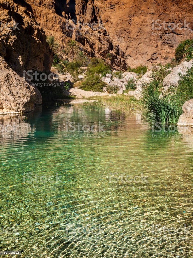 Wadi stock photo