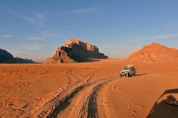 Wadi Rum bei Sonnenuntergang – Foto