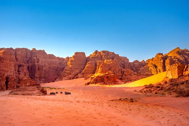 Wadi Rum Wüste in Jordanien – Foto