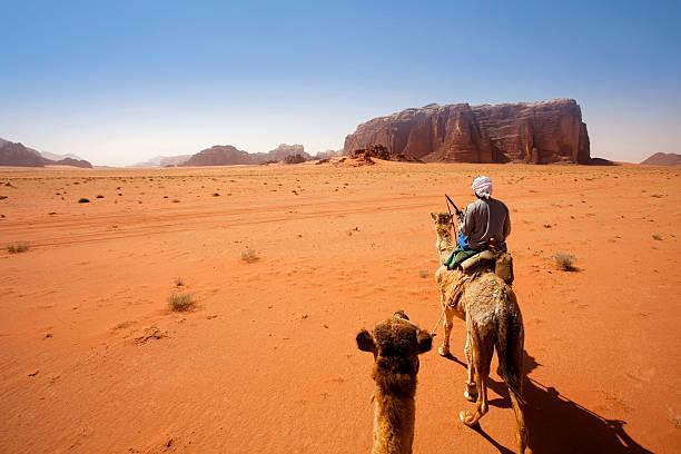 désert wadi rum, jordanie - jordan photos et images de collection