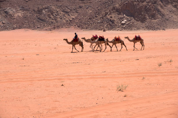 Wadi Rum, Jordan stock photo