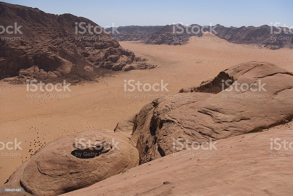 Wadi Rum royalty-free stock photo