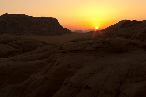 Wadi Rum stock photo