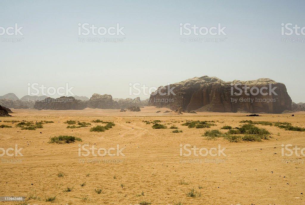 Wadi Rum royalty-free stock photo