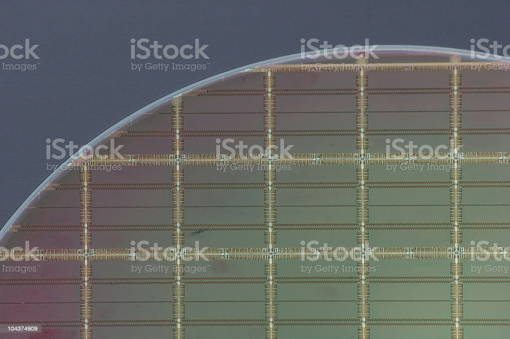 Wafer royalty-free stock photo