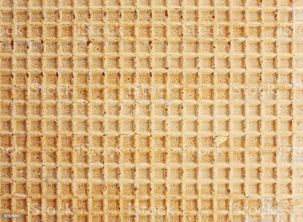 Waffle background royalty-free stock photo