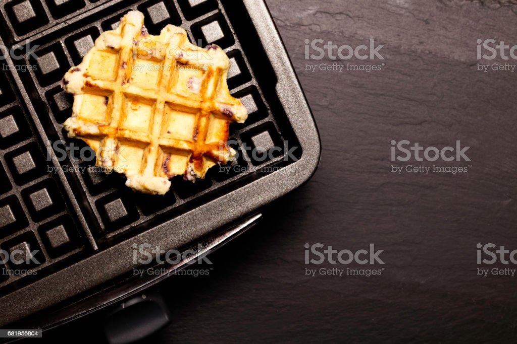 Waffle Iron stock photo