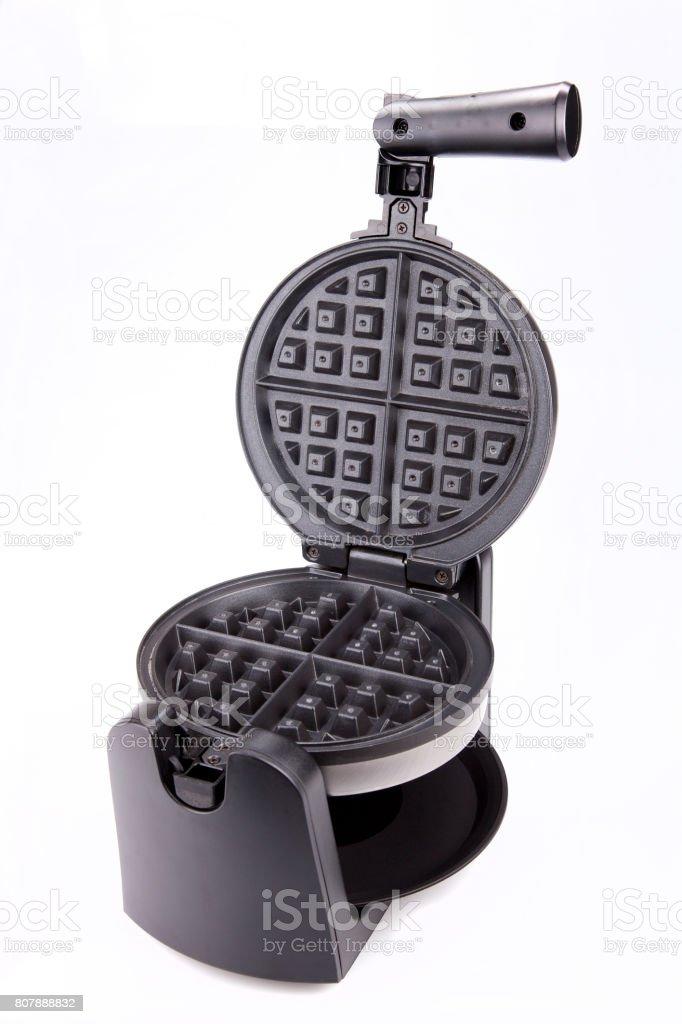 Waffle maker stock photo